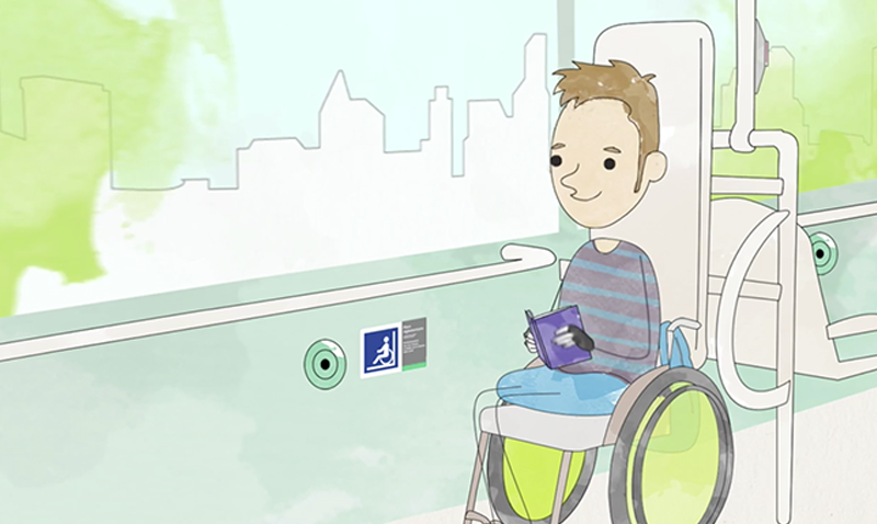 Accessible ensemble - Quand théo rencontre clara - RATP